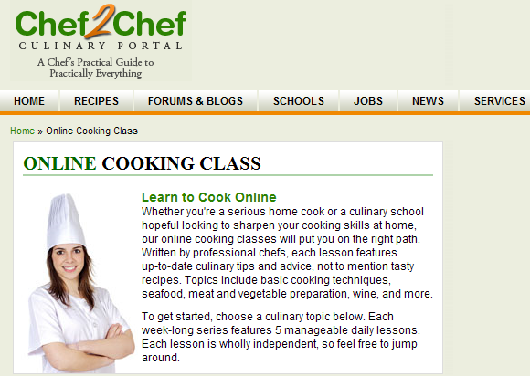 learn to cook well