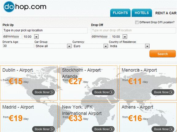 Dohop: Online Flights, Hotels & Car Rentals Comparison dohop2