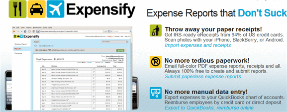 expense reports online