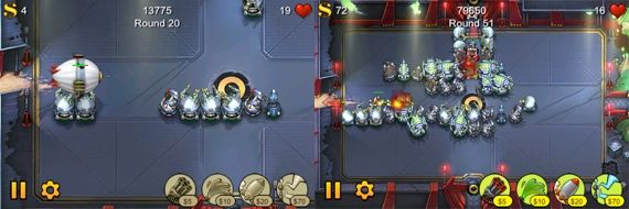 best iphone tower defense game