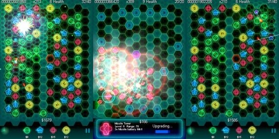 The Best iPhone Tower Defense Games 2009 + Giveaway geodefense swarm2
