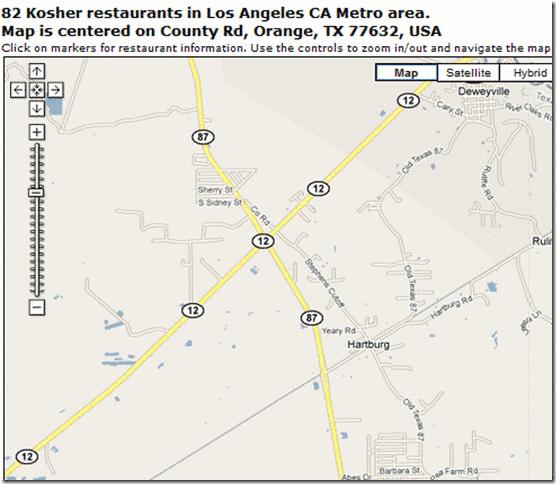 find kosher restaurants