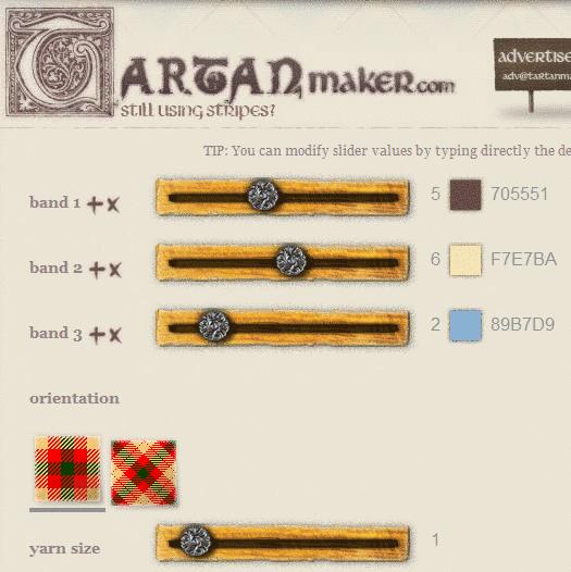 tartan pattern maker