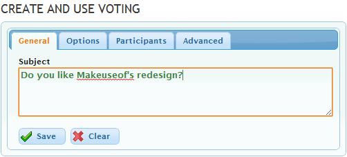 anonymous polls