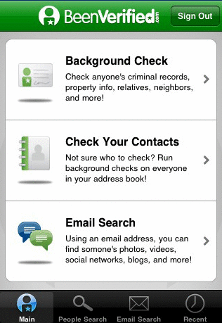run a background check
