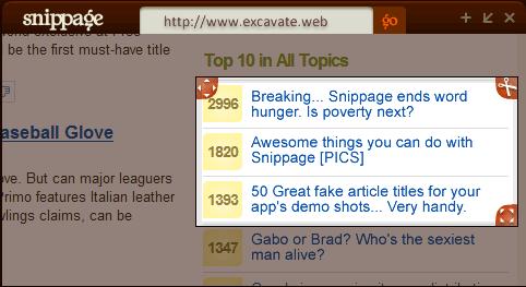 create a desktop widget