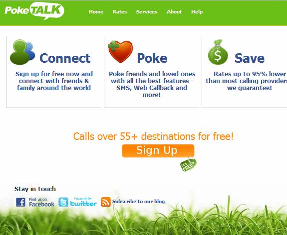 PokeTalk: Make Phone Calls From Your Browser image thumb99