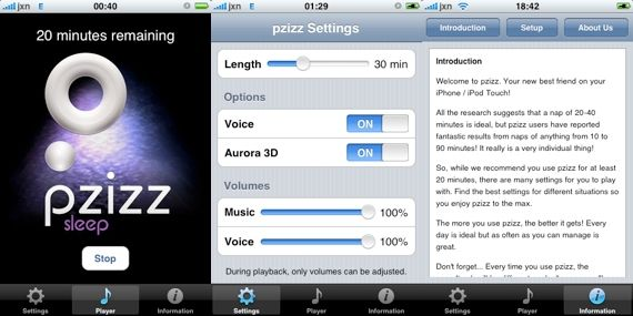 Sleep Better & Re-Energize On The Go With Pzizz For The iPhone + Giveaway! pzizz3