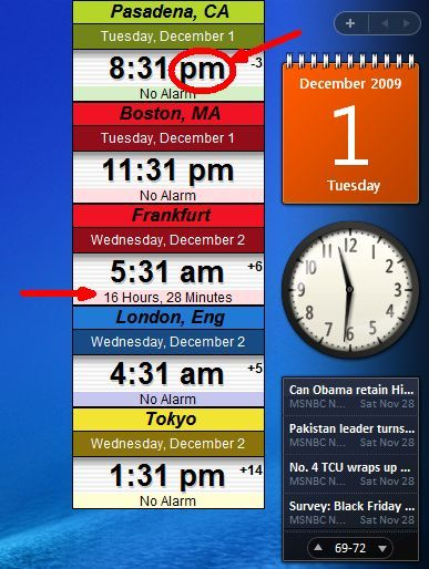 world time clock download