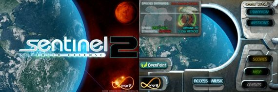 The Best iPhone Tower Defense Games 2009 + Giveaway sentinel1