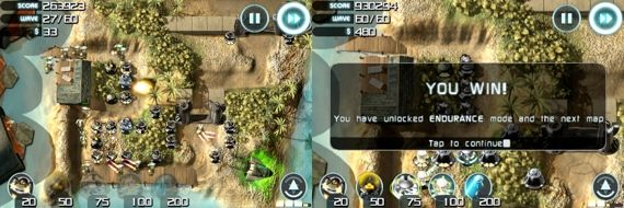 The Best iPhone Tower Defense Games 2009 + Giveaway sentinel4