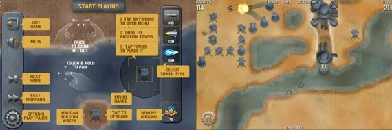 The Best iPhone Tower Defense Games 2009 + Giveaway tridefense2