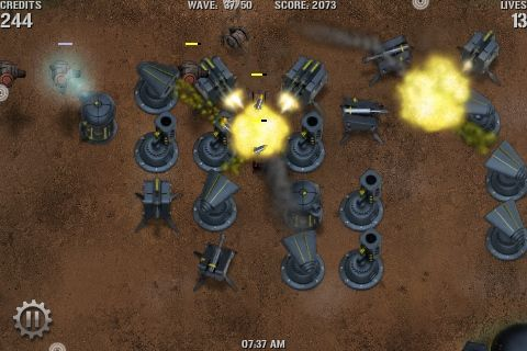 The Best iPhone Tower Defense Games 2009 + Giveaway tridefense3