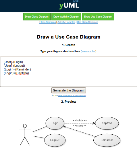 free uml diagrams