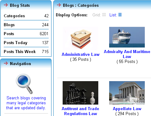 web sites for law students