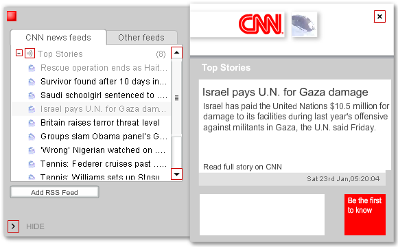 download cnn news ticker