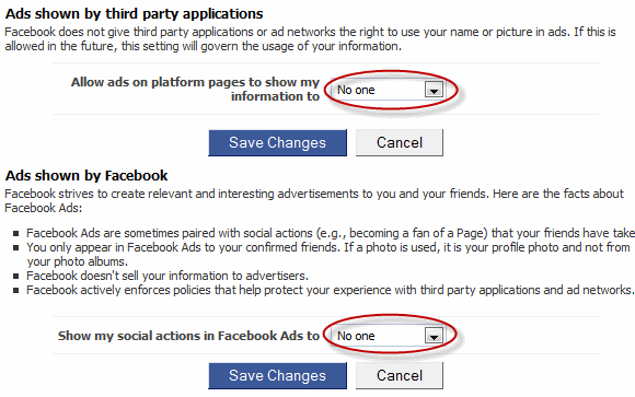 Facebook Ad Privacy