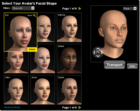 build your own free avatar