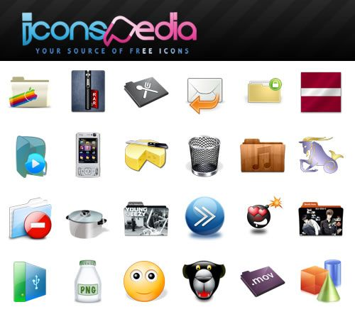 icons1   IconsPedia: Extensive & Free Icon Resource