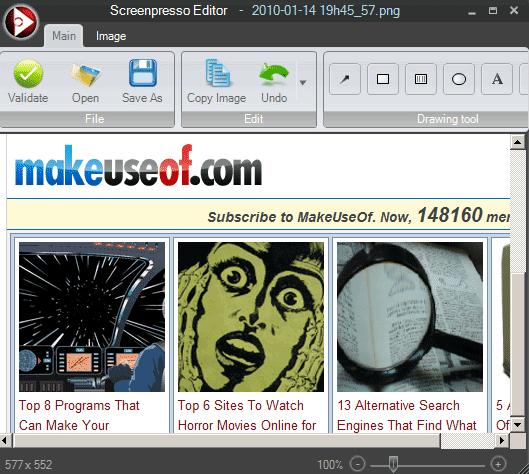 desktop screenshot tool
