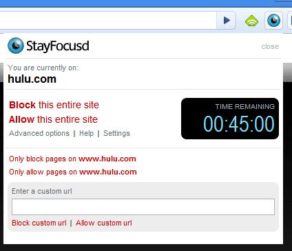 block time wasting websites