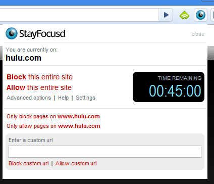 block time wasting websites