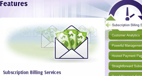 online subscription billing