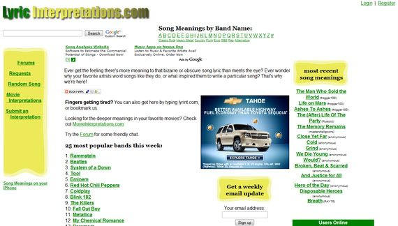3 Best Websites to Find the Meaning of a Song lyric