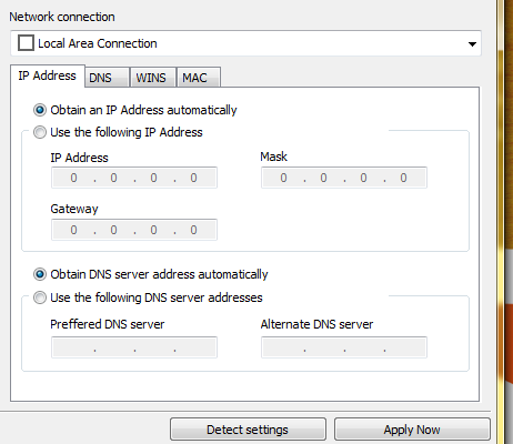 Easily Change Computer Settings Instantly With Quick Config networkqc