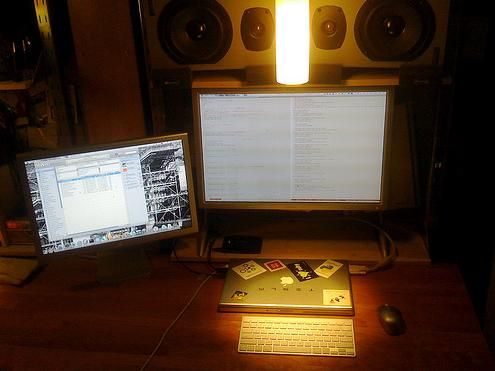 dual monitor configuration