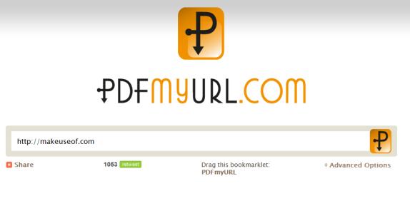 generate pdf from url
