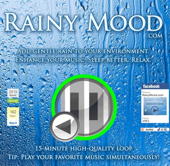sound of rain and thunder mp3