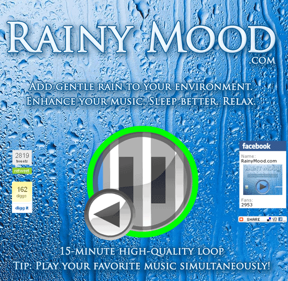 sound of rain and thunder mp3