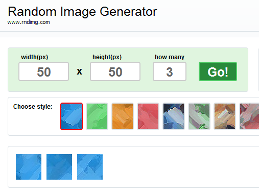 placeholder image generator