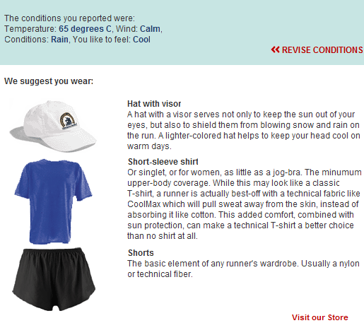 how to dress for running