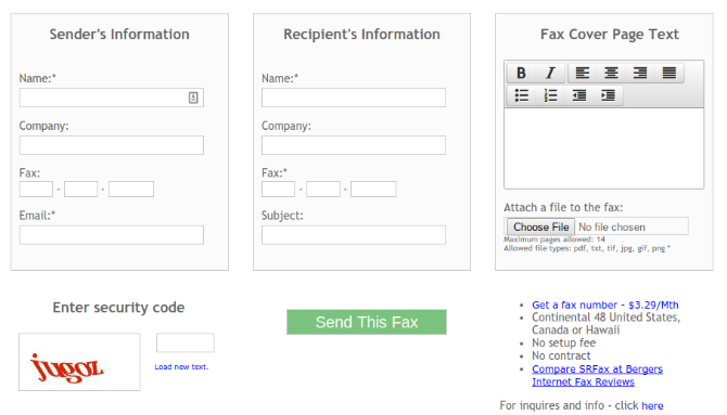 5 free online services to send an email to a fax machine