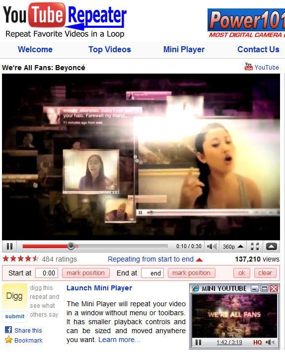 youtuberepeater 0   YouTube Repeater: Repeat YouTube Videos Automatically