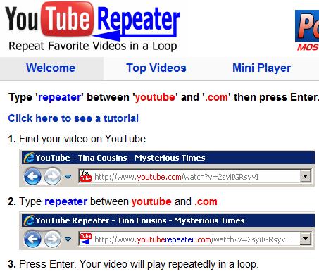 youtuberepeater1   YouTube Repeater: Repeat YouTube Videos Automatically