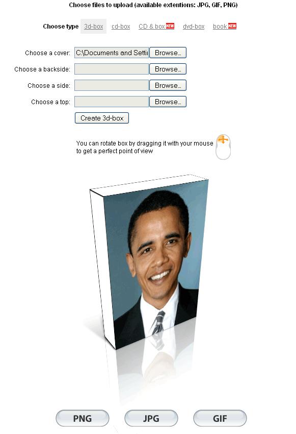 create a 3d box