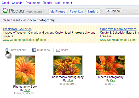 search images by camera