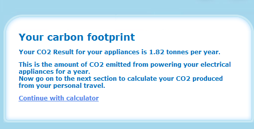calculating a carbon footprint