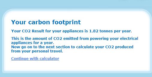 calculating a carbon footprint