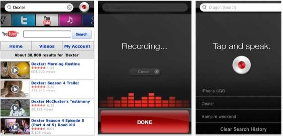 dragonapp - voice recognition software iphone