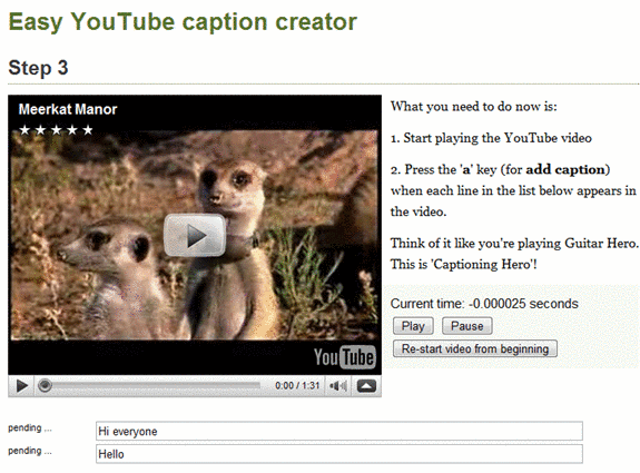 add captions to youtube videos