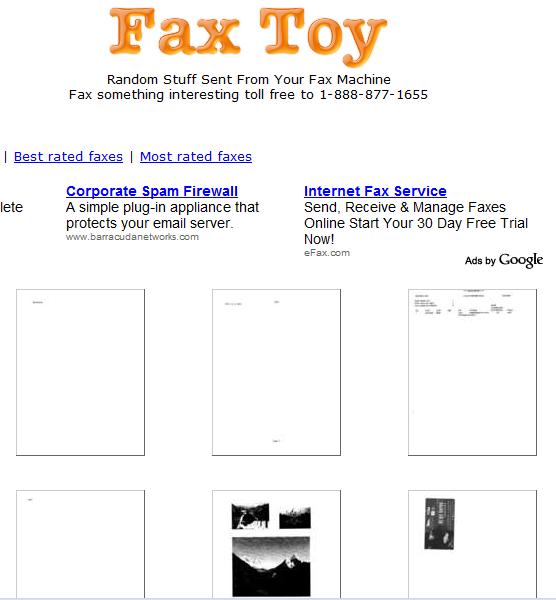 send a test fax