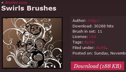 6 Best Sites To Download Free Photoshop Brushes fbrushes2
