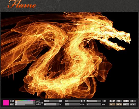flame paintings