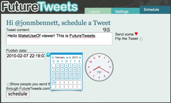 how to use tweetdeck to schedule tweets