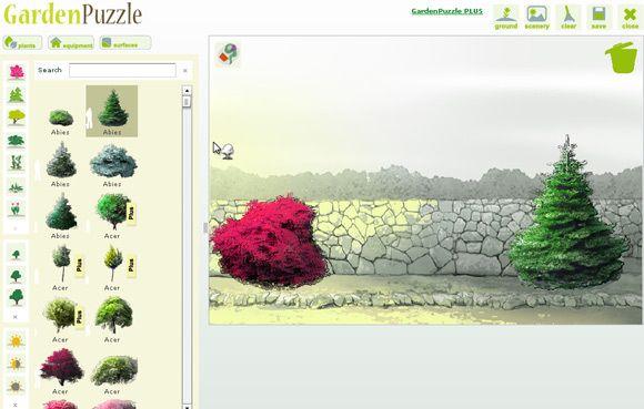 gardenpuzzle free online garden planner. Black Bedroom Furniture Sets. Home Design Ideas