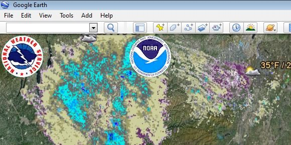 How to view google earth live weather radar google earth live gumiabroncs Gallery